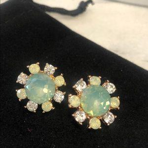 Mint Opal Crystal Earring,NWT
